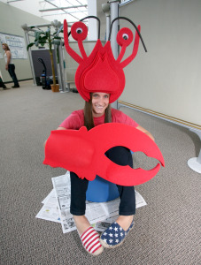 lobster costume teamphoria company culture