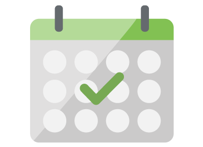 employee review calendar