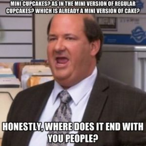 the office mini cupcakes meme