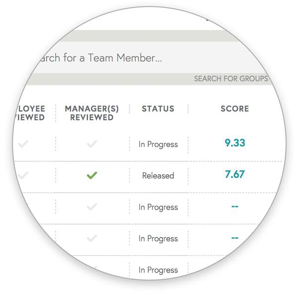 perf screen 2 -  - Teamphoria Performance Management Software